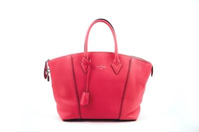 Lot 43-Louis Vuitton Pink Leather Lockit PM
