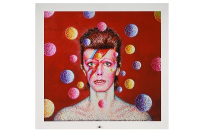 Lot 6-Jimmy C (Australian, b.1973), 'David Bowie'