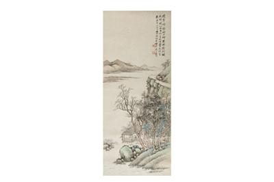 Lot 273 - ZHANG JUN (1881 – 1943). LANDSCAPE.