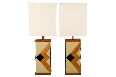 Lot 40-A pair of 1970s large table lamps