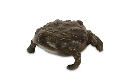 Lot 35-A 16TH CENTURY PADUAN BRONZE MODEL OF A TOAD