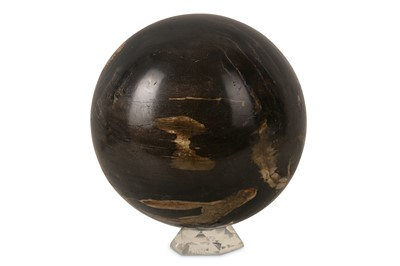 Lot 43-A SOLID FOSSILISED WOOD SPHERE