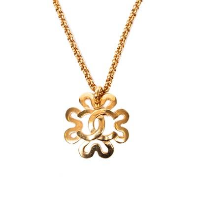 Lot 49-Chanel CC Pendant Necklace
