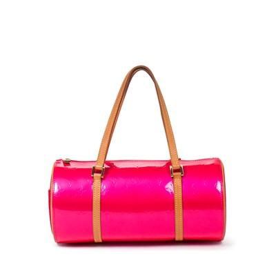 Lot 44-Louis Vuitton Flashy Pink Monogram Vernis Bedford
