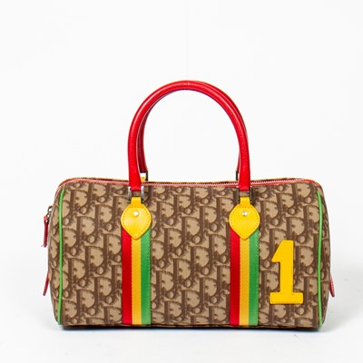 Lot 4-Christian Dior Rasta 1 Boston Bag
