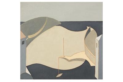 Lot 47-ANDREW LANYON (B. 1947)