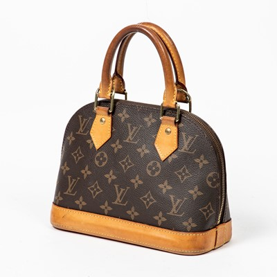 Lot 179 Louis Vuitton Monogram Alma Bb