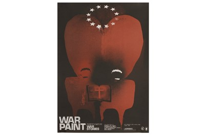 Lot 21-Robert del Naja (British, b.1966), 'War Paint'