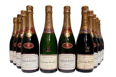Lot 16-40 Bottles of Laurent Perrier NV