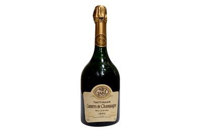 Lot 32-Taittinger Comtes de Champagne 1993
