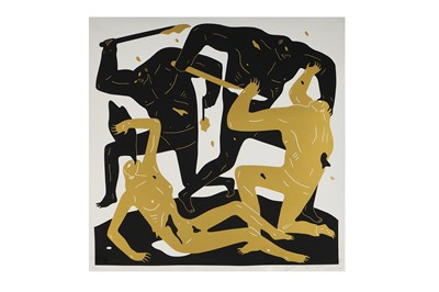 Lot 90-Cleon Peterson (American, b.1973), 'Into the Sun - White and Gold (2)'