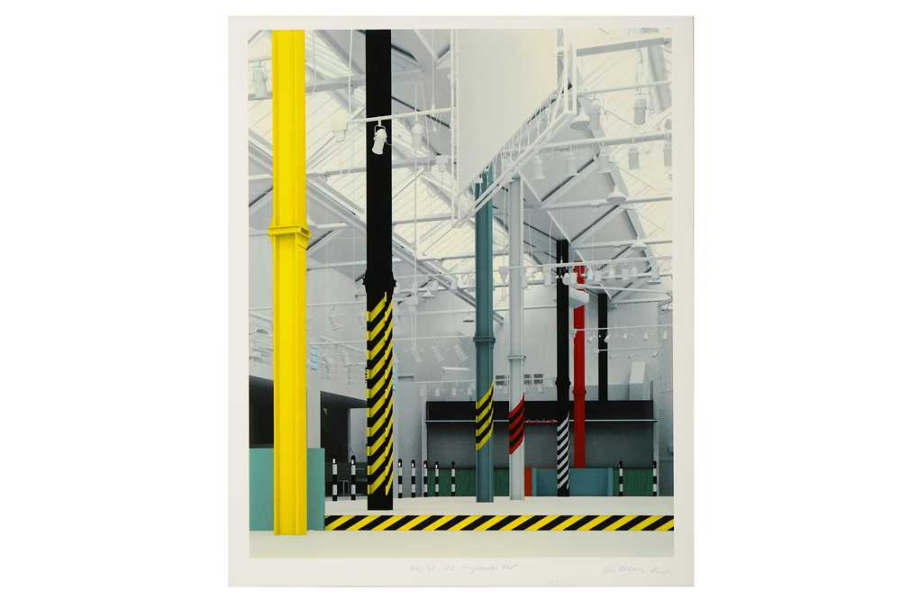 Lot 28-Ben Kelly & Morph, 'FAC51 The Haçienda - Interior West View'