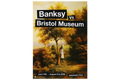Lot 38-Banksy (British, b.1974), 'Banksy vs. Bristol Museum (Set of 4)'