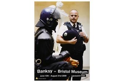 Lot 38-Banksy (British, b.1974), 'Banksy vs. Bristol Museum (Set of 4)'