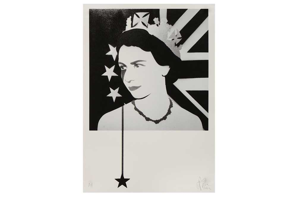 Lot 41-Pure Evil (British, b.1968), 'Queen - Brexit Nightmare'