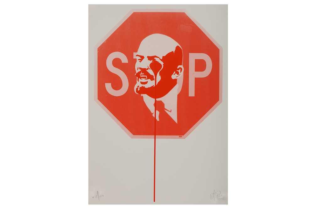 Lot 19-Pure Evil (British, b.1968), 'Stop Lenin'