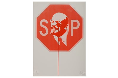 Lot 19-Pure Evil (British, b.1968), 'Stop Lenin'