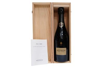 Lot 12-Champagne R.D Extra Brut, Bollinger 1990