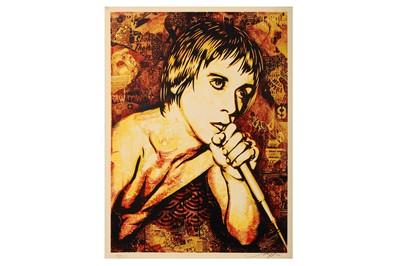 Lot 87-Shepard Fairey (American, b.1970), 'Iggy Pop'