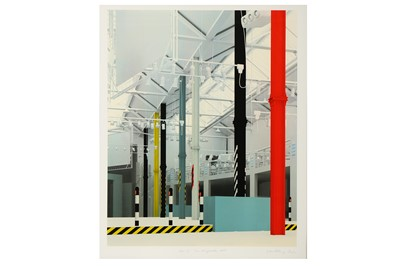 Lot 29-Ben Kelly & Morph, 'FAC51 The Haçienda - Interior East View'