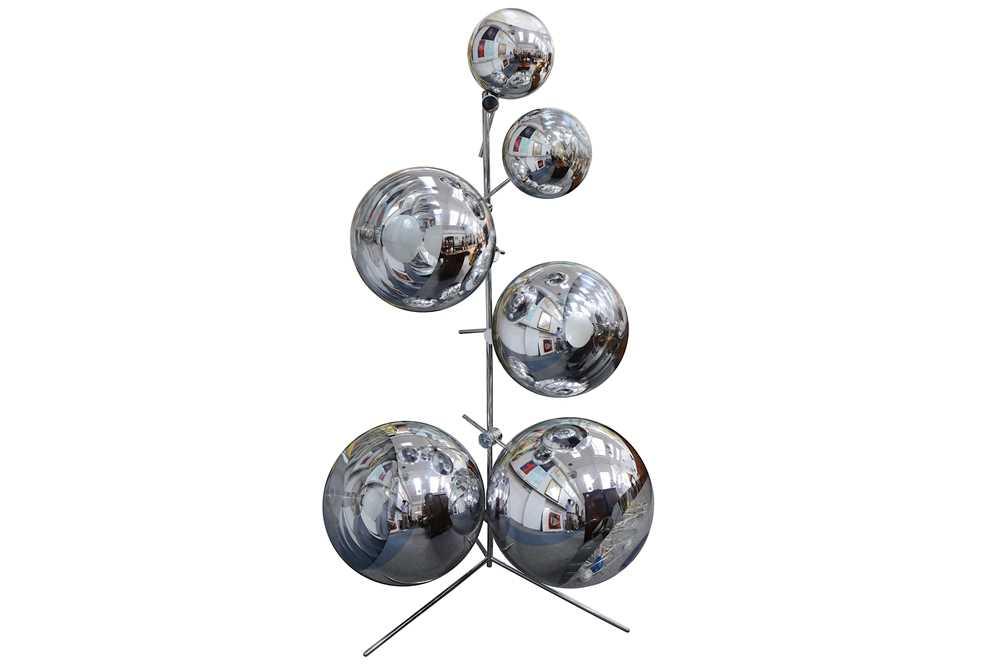 Lot 25-Tom Dixon Mirror ball lights