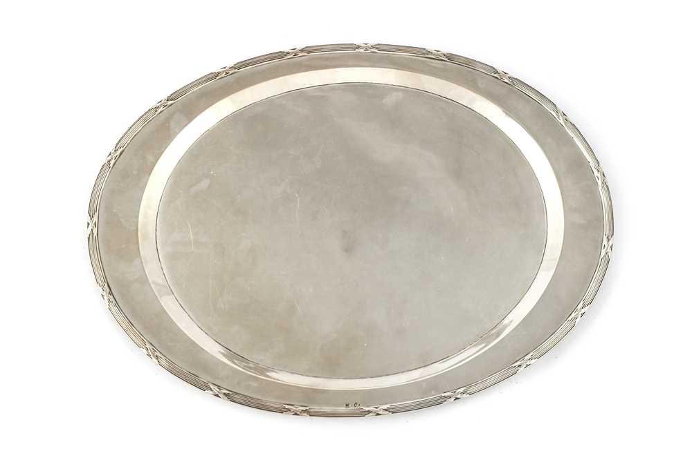 Lot 22-A Austro-Hungarian 800 silver platter
