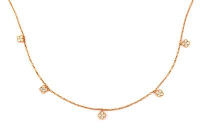 Lot 25 - A diamond-set necklace