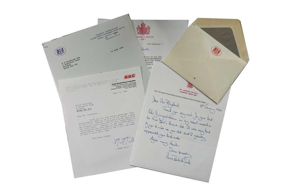 Lot 37-Autograph Collection.- Miscellaneous