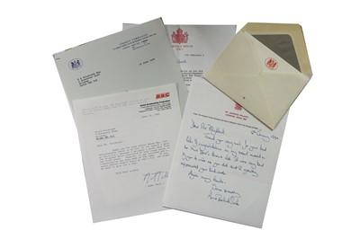 Lot 130-Autograph Collection.- Miscellaneous