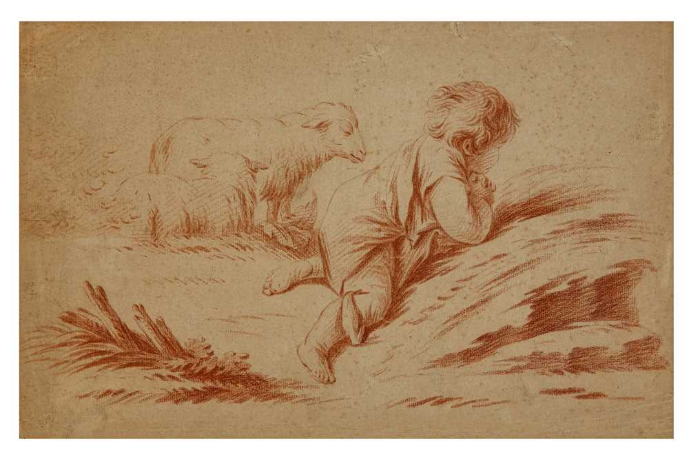 Lot 6-ATTRIBUTED TO JEAN BAPTISTE HUET (PARIS 1745 - 1811), AFTER FRANCOIS BOUCHER (PARIS 1703 - 1770)