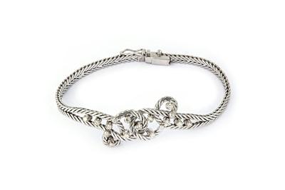 Lot 36 - A diamond-set bracelet