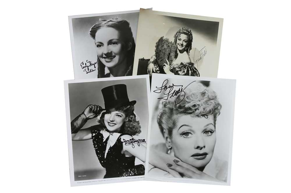 Lot 48-Hollywood Interest.- Actresses