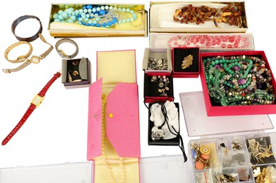 Lot 120-A large collection of costume jewellery