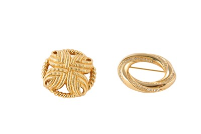Lot 59-Christian Dior Brooches