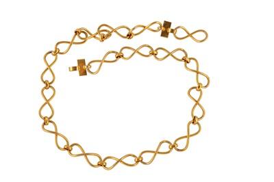Lot 77-YSL Infinity Link Chain Belt