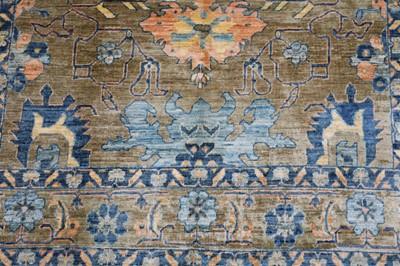 Lot 23-FINE NORTH-WEST PERSIAN DESIGN CARPET