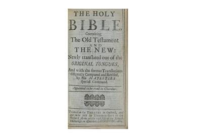 Lot 67-Bible, English