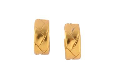 Lot 76-YSL Half Hoop Clip On Earrings