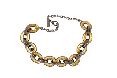 Lot 79-YSL Open Circle Link Necklace