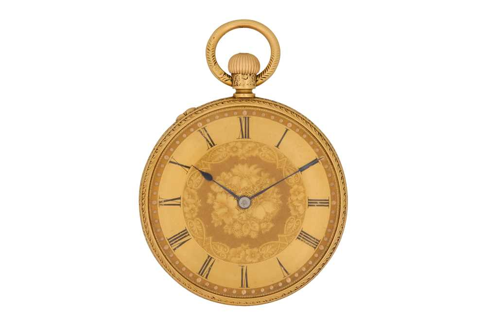 Lot 8-POCKET WATCH.