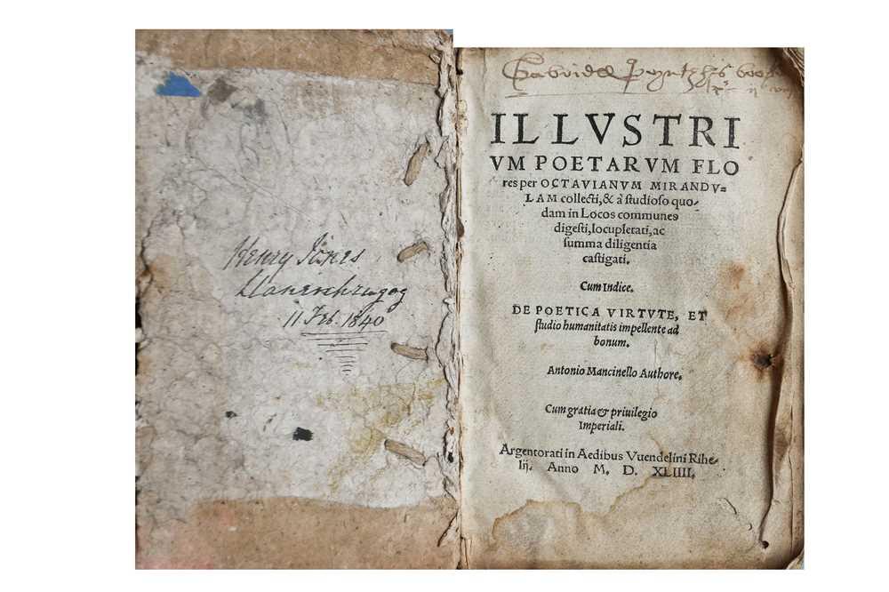 Lot 29-Fioravanti ('Mirandula' (Octavian, editor)