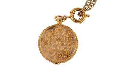 Lot 70-Gooseens Medallion Pendant Necklace