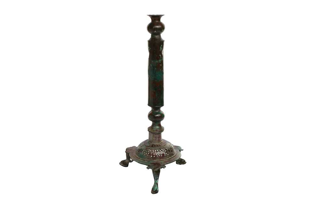 Lot 119-A CAST BRONZE FOOTED BRAZIER STAND