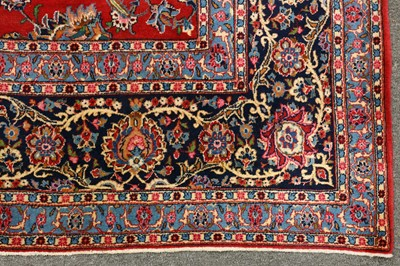 Lot 28-FINE KASHAN CARPET, CENTRAL PERSIA
