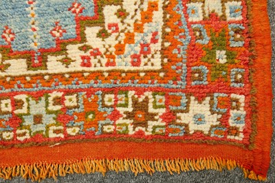 Lot 1-A MOROCCAN RUG
