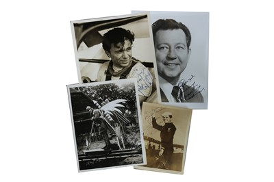 Lot 54-Photograph Collection.- Actors & Producers
