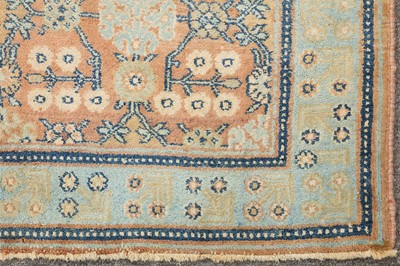 Lot 33-A FINE AGRA RUG, NORTH INDIA