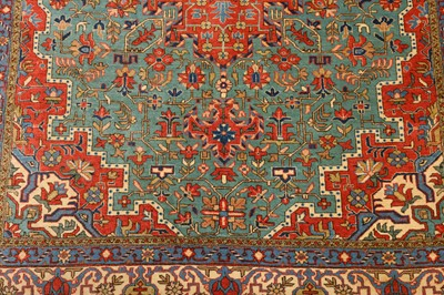 Lot 35-A FINE QUM RUG, CENTRAL PERSIA