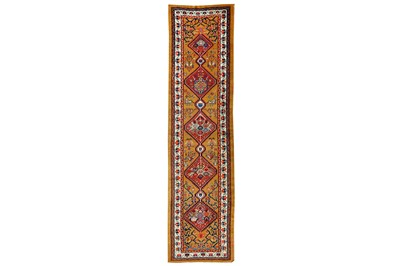 Lot 8-AN ANTIQUE SERAB RUNNER, NORTH-WEST PERSIA
