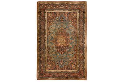 Lot 15 - A VERY FINE ISFAHAN RUG, CENTRAL PERSIA